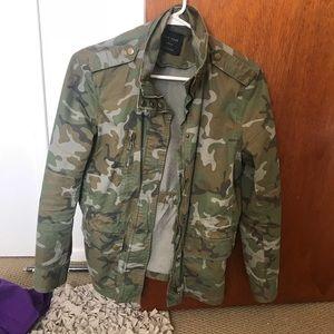Jackets & Blazers - Camo Utility Jacket